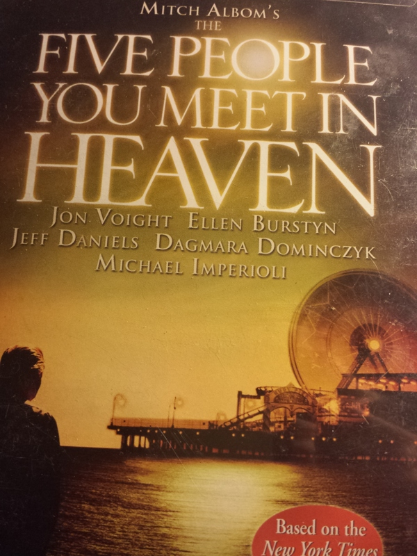 five people you meet in heaven thesis Read the five people you meet in heaven free essay and over 88,000 other research documents the five people you meet in heaven the five people you meet in heaven, by mitch albom, is a book about the journey of an old man.