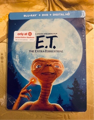 "(STEELBOOK)""ET"" THE EXTRATERRESTRIAL BLU-RAY * COLLECTORS EDITION"