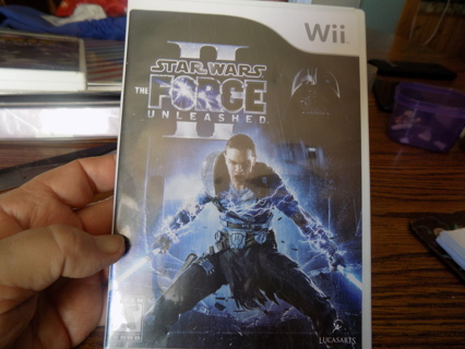 Wii Star Wars The Force Unleashed game