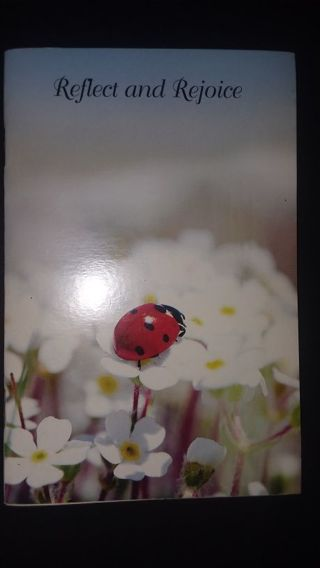 Sweet little Inspirational book!Reflect and Rejoice (Poetry and lots of pretty pictures!)