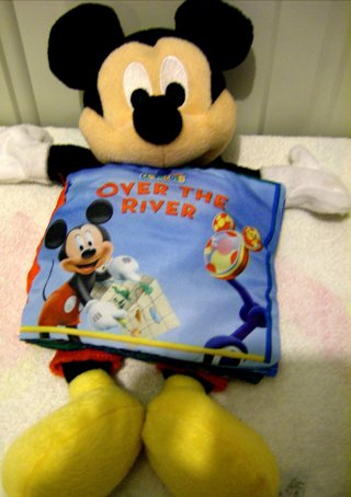 *DISNEY* Mickey Mouse Puppet With Book Attached