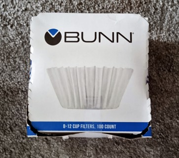 *Bunn Coffee Filters - For 8-12 Cup Coffee Makers