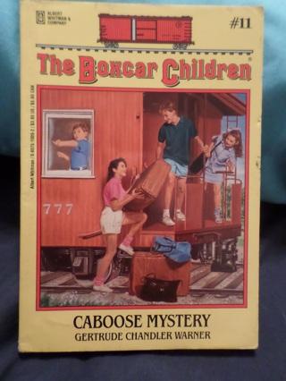 Caboose Mystery, Boxcar Children Book