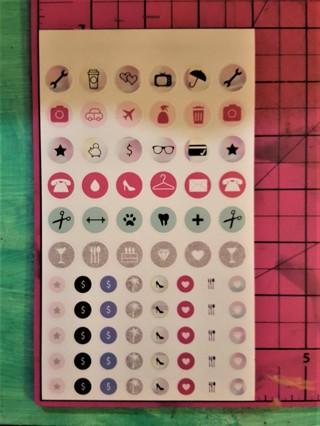 Mini Happy Planner Sticker Sheet