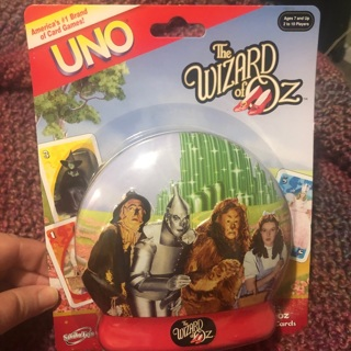 Wizard of Oz UNO Game