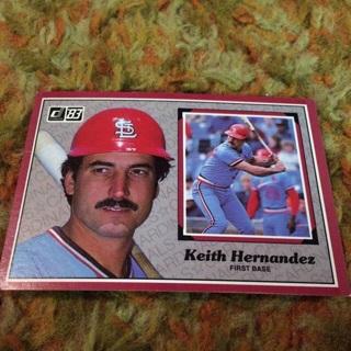 Keith Hernandez 1983 donruss jumbo
