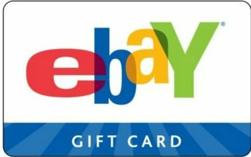 $100 EBAY GIFT CARD! MAILED OR EMAILED.... YOUR CHOICE! 499 START BID!