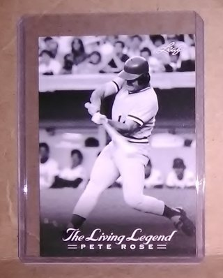 Pete Rose - The Living Legend - 2012 Leaf Trading card