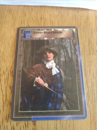 Highlander card - Lower Right Block
