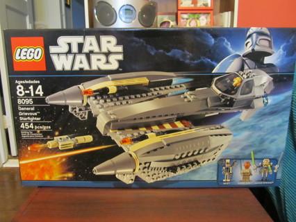 star wars lego 8095 general grievous starfighter bnip  christmas present