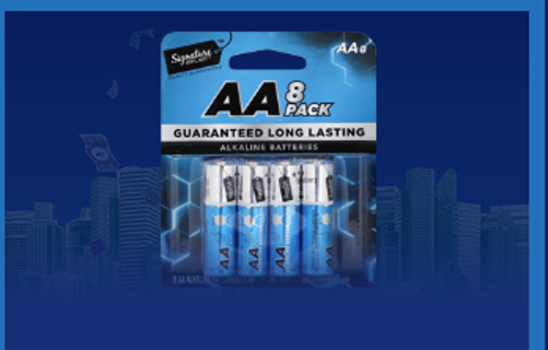 5 - NEW AAA 4-Pack Batteries