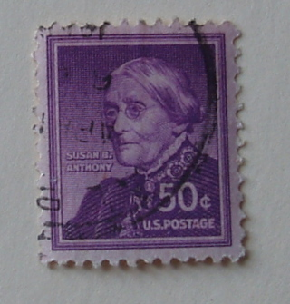 1955 Susan B Anthony 50 Cent Stamp