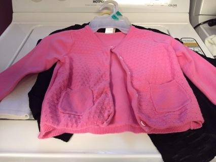 3 Small girl Sweaters