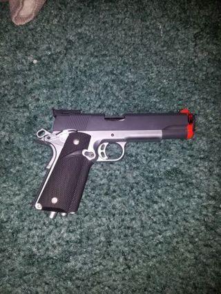 Metal blowback green gas airsoft pistol