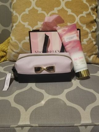 Victoria's Secret cosmetic bag or lotion mystery bidding#1 Please read!