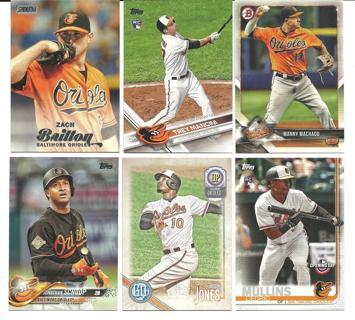 Baltimore Orioles - 6 Cards