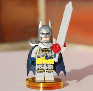 Minifigures Bruce Wayne Excalibur Batman Justice League DC Comics Building Toys