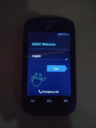 ZTE Valet Z665C Tracfone Android