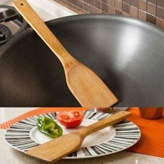 Bamboo Kitchen Wooden 30cm Healthy Non-stick Shovel Spoon Spatula Cooking