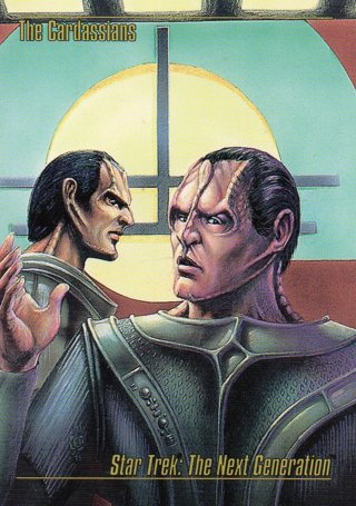 1993 Star Trek Collectible/Trade Card: The Next Generation: The Cardassians