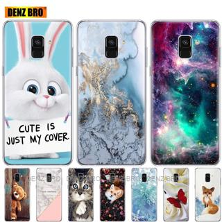 soft Silicone Case For Samsung Galaxy A8 2018 A530 A530F silicon Cover For Samsung A8 Plus 2018 A7