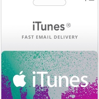 Itunes$2 gift card