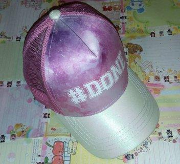 *PINK GALAXY* #Done Ladies/Juniors Snapback Hat