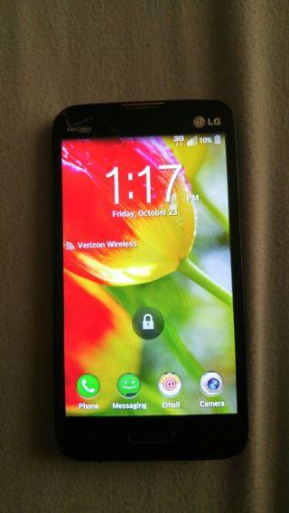 Lg Optimus Exceed 2 Verizon Prepaid phone.