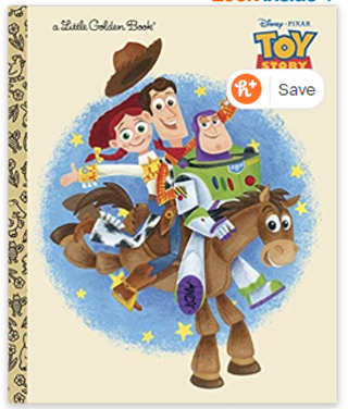 Toy Story 2 (Little Golden Book) Hardcover