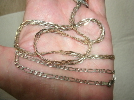Real Sterling Silver Bracelet OR Necklace