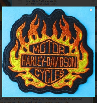 1 NEW Harley Motorcycles IRON ON PATCH Embroidered Applique On Patch FREE SHIPPING