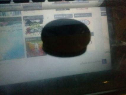 black oval pin