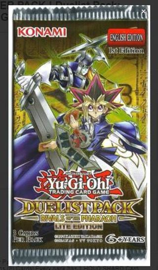 1 NEW YU-GI-OH! BOOSTER PACK ! Duelist Pack: Rivals of the Pharaoh Yu Gi Oh Cards TCG