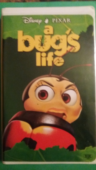 vhs a bug's life free shipping