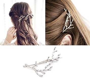 1 NEW Elegant Metal Tree Branch Hairpins Hair Clips Women Barrettes Headwear Alloy Accessories Clips