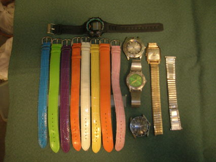 Old Watches & Watch Bands