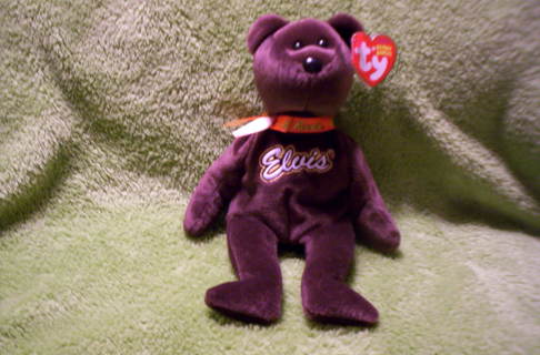 Free  Elvis Ty Beanie Babies Coco Presley Bear NWT (Low GIN) - Dolls ... 6ed40a63c6e