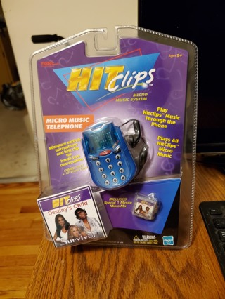 HIT CLIPS Tiger Micro Music Player Destiny Child Survivor Brand New Factory Sealed