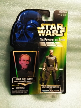 Vintage 1996 Star Wars Grand Moff Tarkin Action Figure
