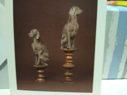 """PAWNS, 2015 FROM """"GOOD DOGS ON NICE FURNITURE"""" CARD W/ ENVELOPE (#18)"""