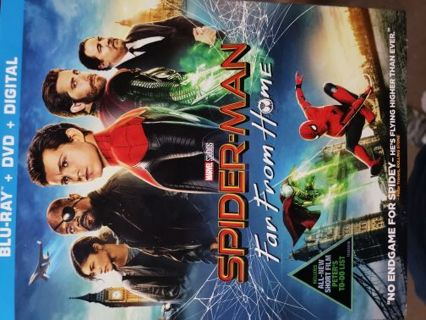 Spiderman Far from Home Digital Copy Movie Download. Apple/Google & VUDU Compatible