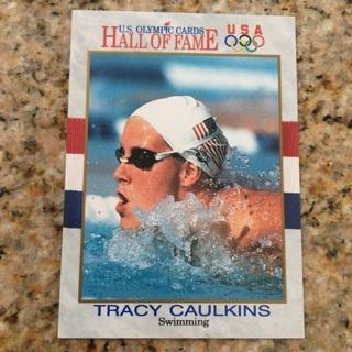 1991 Impel U.S. Olympicards Hall of Fame - [Base] #45 Tracy Caulkins