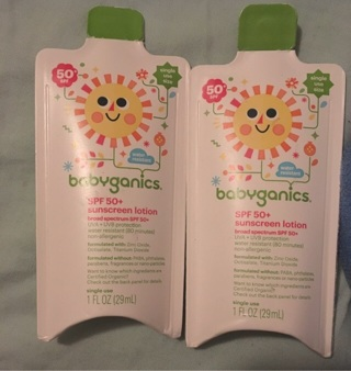 Babyganics Sun screen Lotion (SPF 50+)