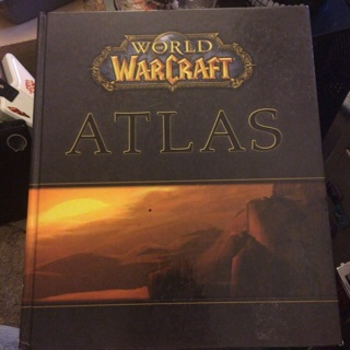 World of Warcraft Atlas Hardcover