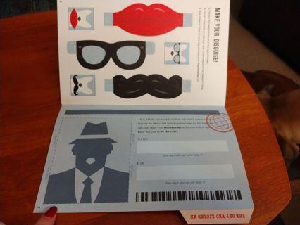 Spy Passport for Dog!!