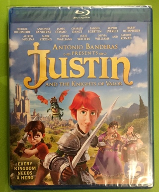 New Justin and the Knights of Valour Blu-ray