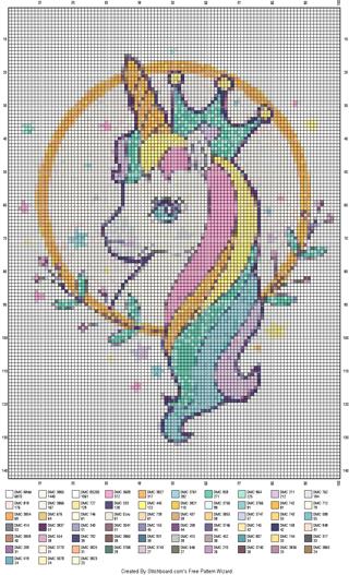unicorn  pattern 22