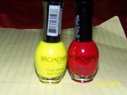 BROADWAY NAILS,high shine nail polish.