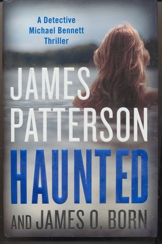 """""""Haunted"""" James Patterson, Hardcover, In Like New Condition, Free Shipping w/GIN - BK-1036"""