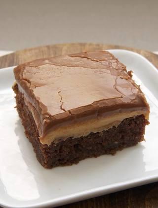 CHOCOLATE LAYERED Peanut  butter brownies  recipe